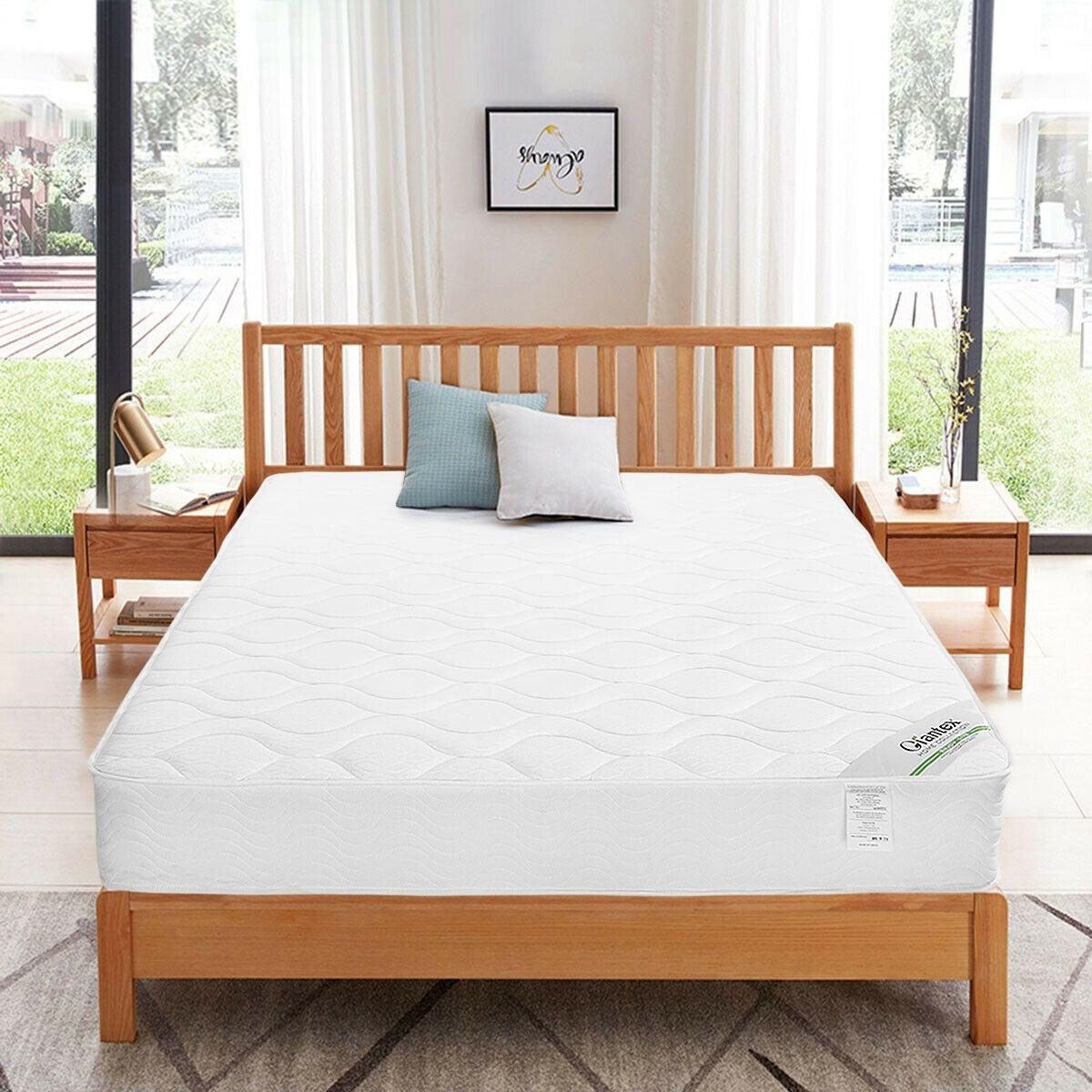 """80"""" x 60"""" x 9"""" Bunk Bed Spring Mattress Mattress, Bed"""