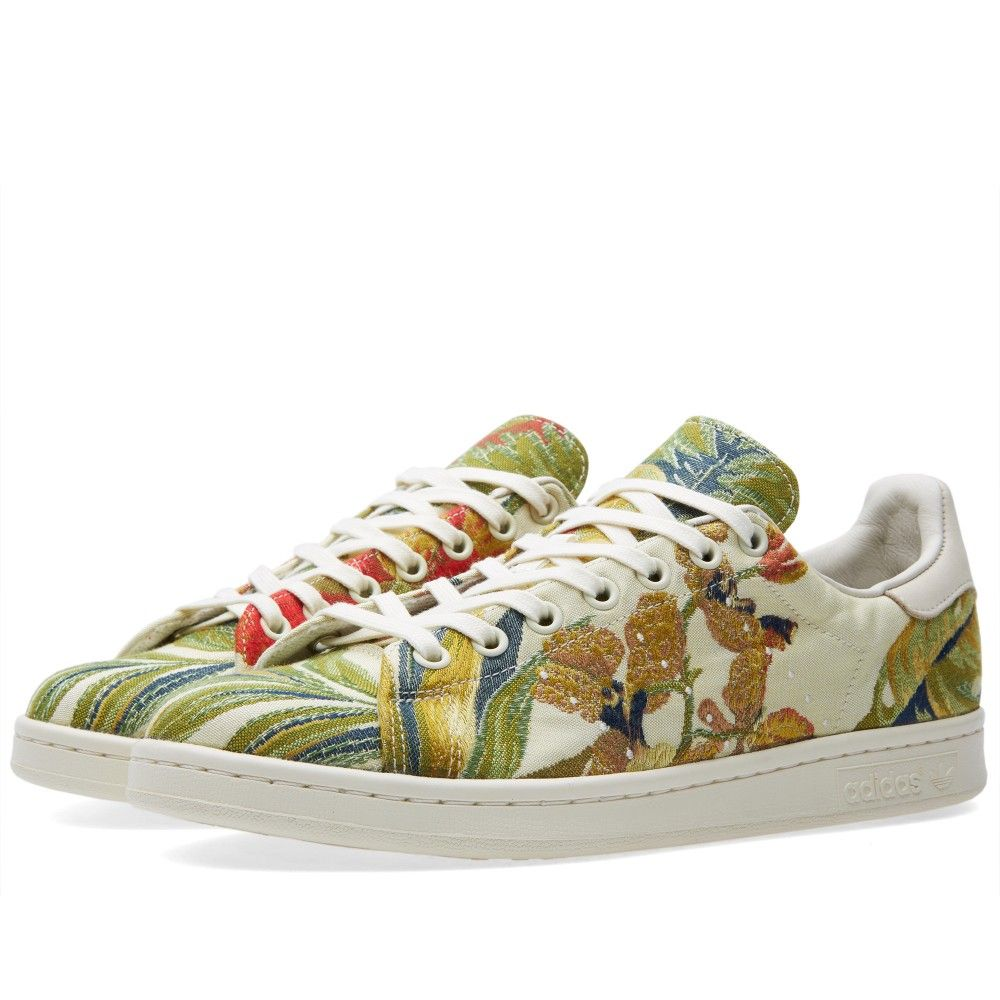 Adidas x Pharrell Jacquard Stan Smith Cream White