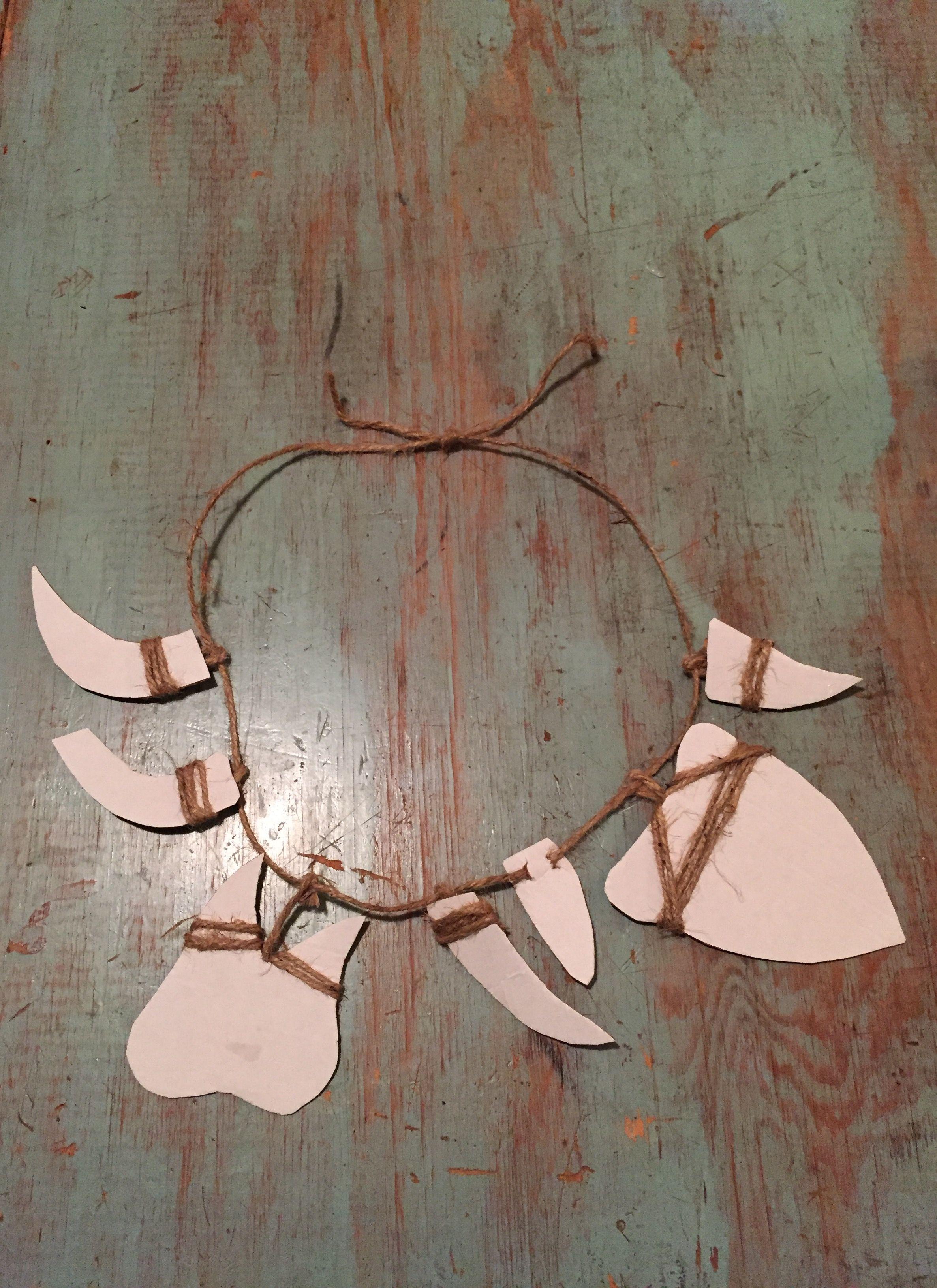 Make A Moana Maui Necklace On A Budget Fun Ideas Moana Halloween Costume Moana Birthday