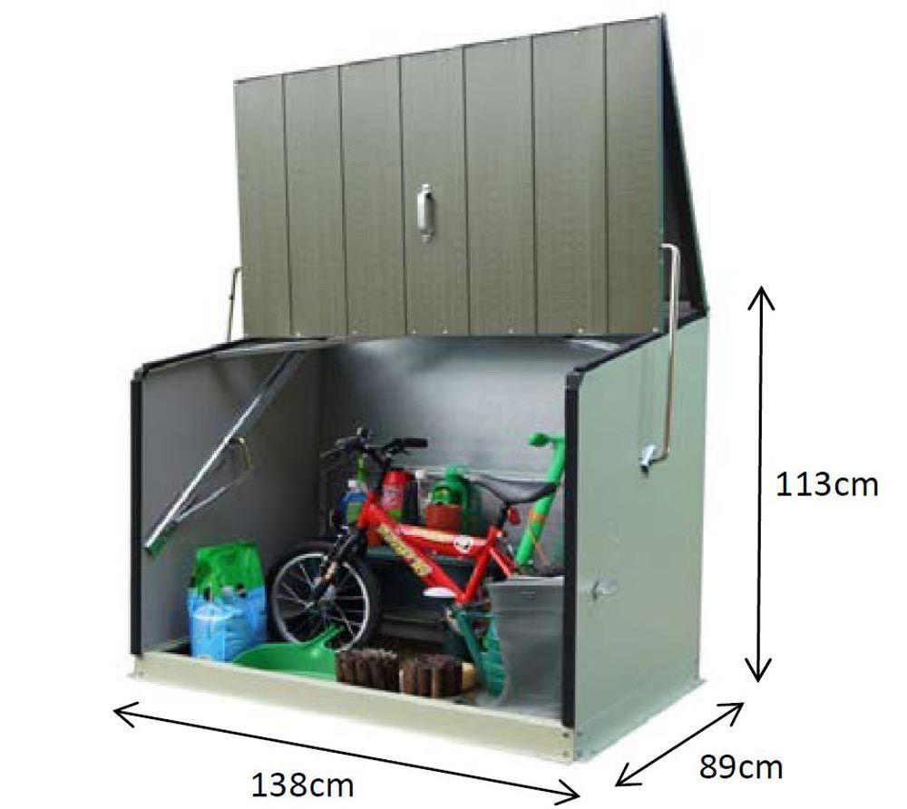 trimetals fahrradbox ger tebox aufbewahrungsbox stowaway anthr fahrradbox aufbewahrungsbox. Black Bedroom Furniture Sets. Home Design Ideas