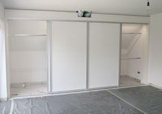 Ideen - Kleiderschrank unter der Dachschräge | Home: Attic ...