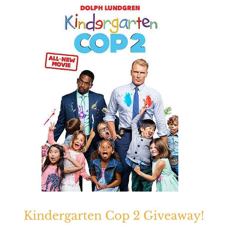 Kindergarten Cop 2 Giveaway Dolph Lundgren New Movies