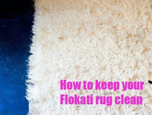 Flokati Rug Cleaning