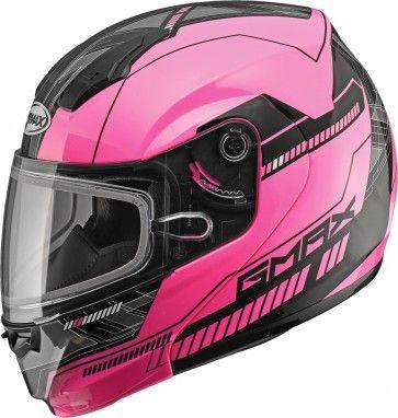 Gmax Md04 Modular Graphic Womens Sled Winter Sports Dot Snowmobile Helmets Snowmobile Helmets Helmet Snowmobile