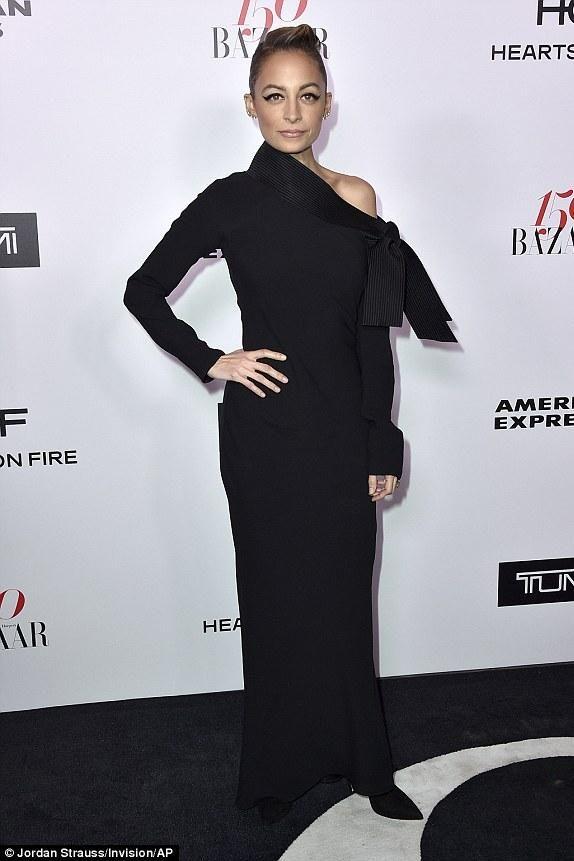 264e277633c4 Nicole Richie wearing Sarah Flint Tanya Booties and Dior by John Galliano  Vintage Black Dress