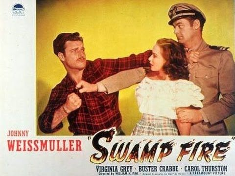 SWAMP FIRE (1946) Johnny Weissmuller - Virginia Grey - Buster Crabbe