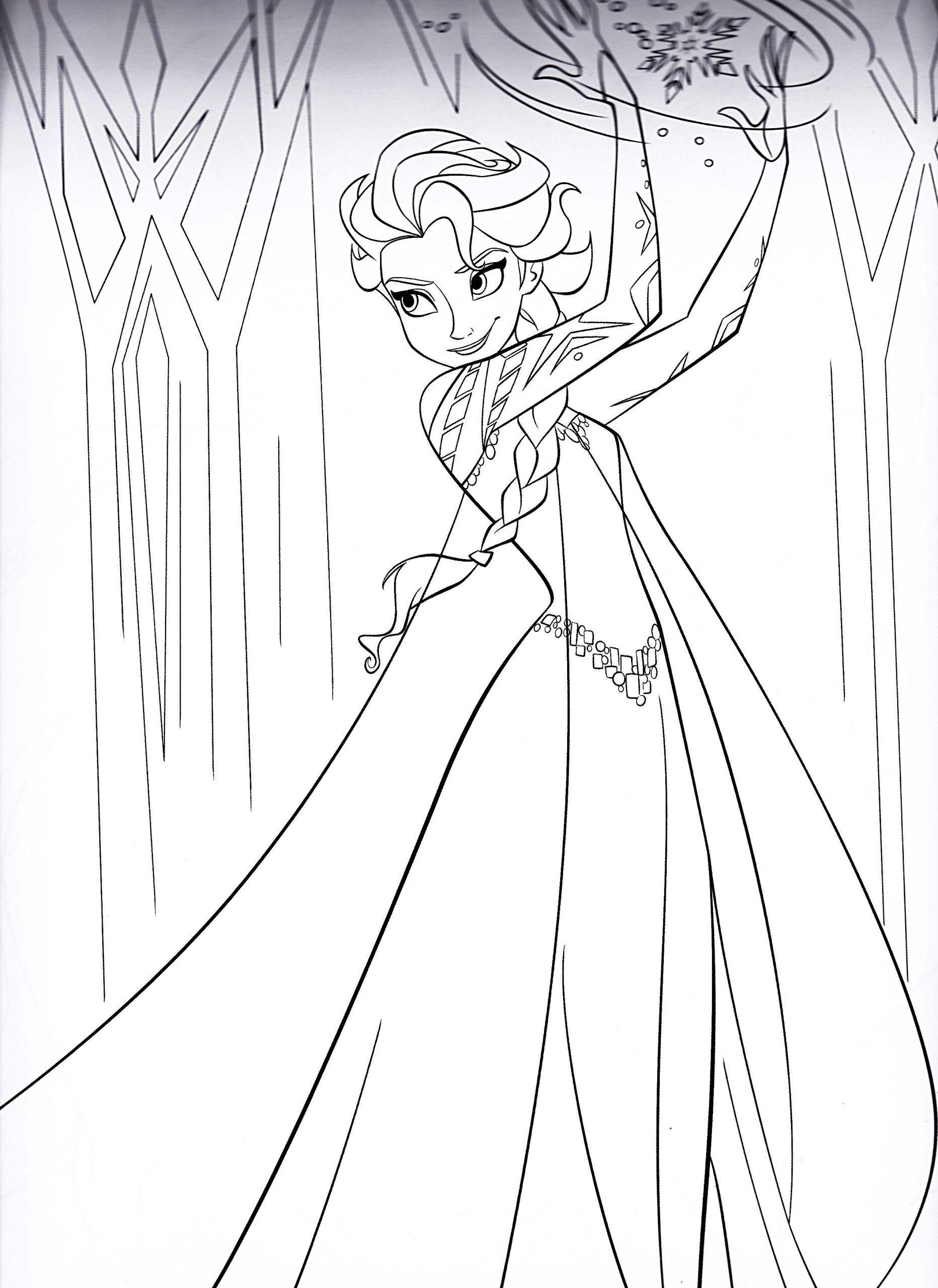 Die Besten Von Elsa Und Anna Ausmalbilder 11 Ausmalbilder