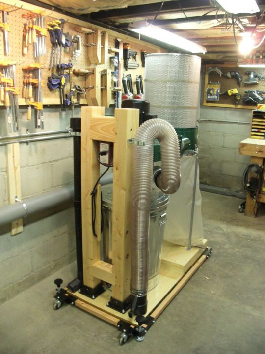 Harbor Freight Dust Collector Conversion Garage