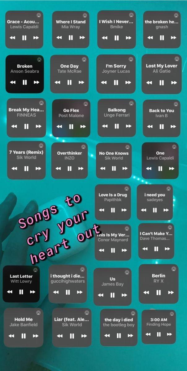 Songs To Cry To Heartbreak Songs Depressing Songs Mood Songs