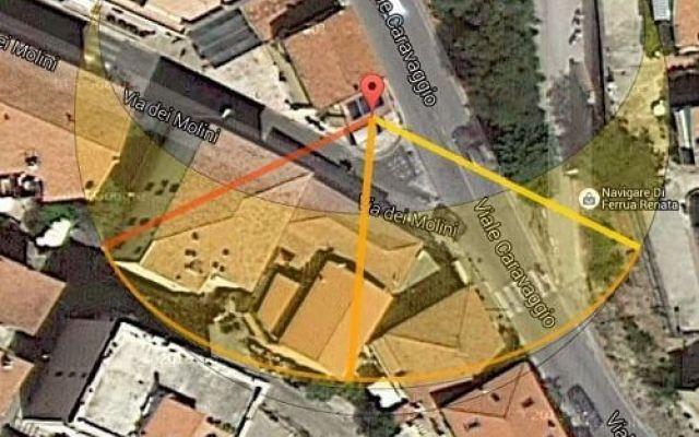 Prima di comprare casa, hai studiato quanto sole prende ? Su una mappa di google street view si può individuare l'abitazione da acquistare e vedere ad ogni ora del giorno la posizione del sole relativa.  E' molto utile perchè la posizione del sole cambia  #immobiliare #sole #esposizione