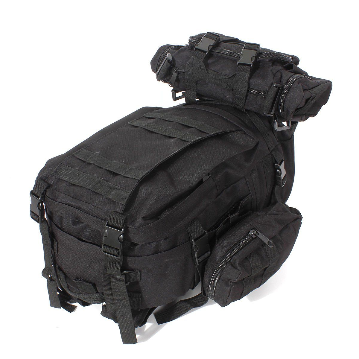 Specification  Material  600D Military nylon MainC ompartment(approx)  51 x  34 x 15cm (H x L x W) Front Pocket(approx)  15 x 34 x 9cm (H x L x W) Side  ... 2ca513dda0d36