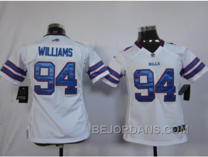 http://www.bejordans.com/free-shipping-60-off-nike-women-nfl-jerseys-buffalo-bills-94-williams-white.html FREE SHIPPING ! 60% OFF! NIKE WOMEN NFL JERSEYS BUFFALO BILLS #94 WILLIAMS WHITE Only $20.00 , Free Shipping!