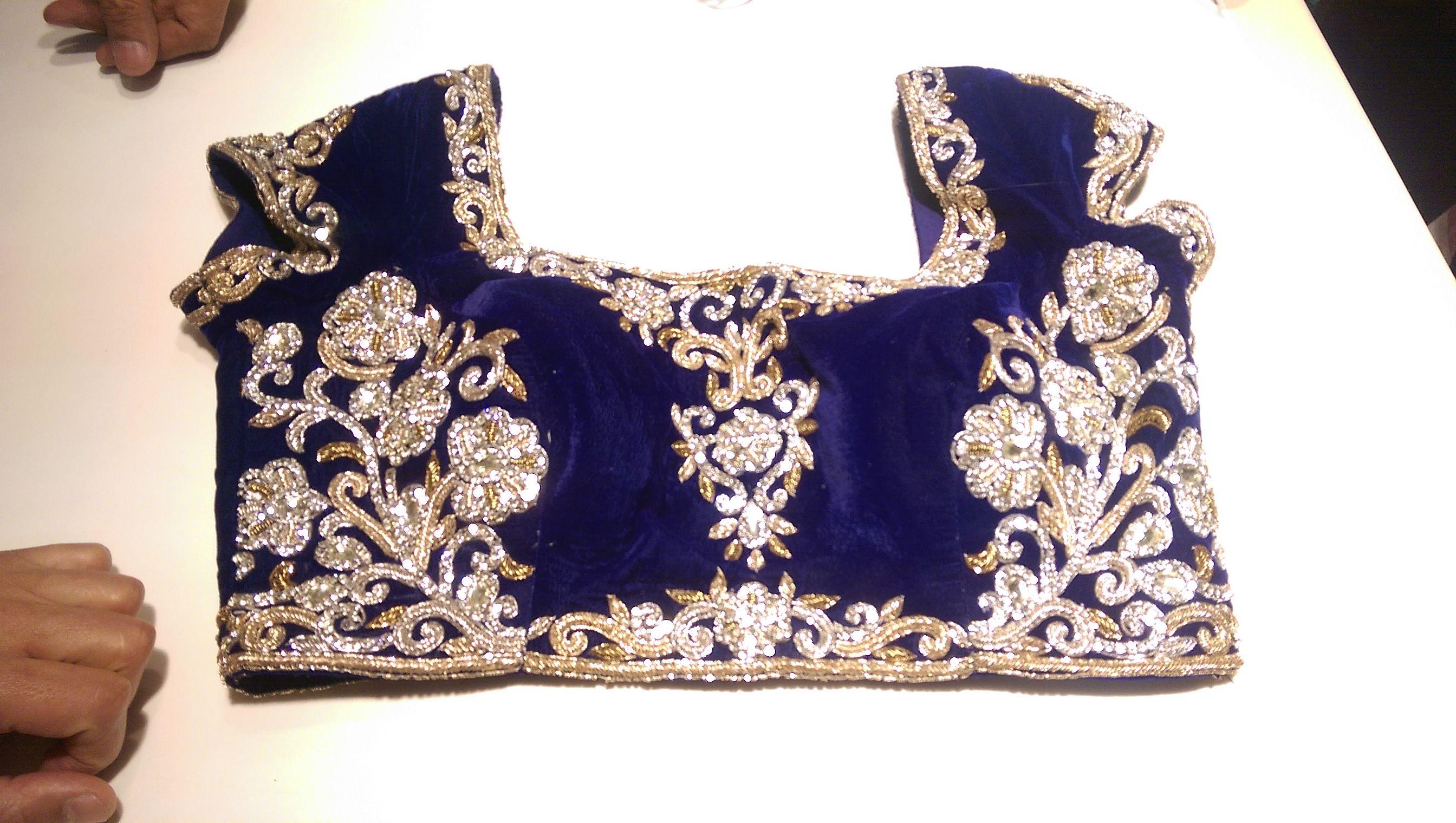 My Mehendi/Sangeet blouse