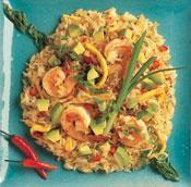 Spicy Avocado-Shrimp Fried Rice | California Avocado Commission