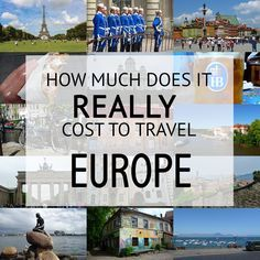 How much does it cost to backpack Europe? Come and read my detailed two month diary of my daily expenses to help you budget for your trip