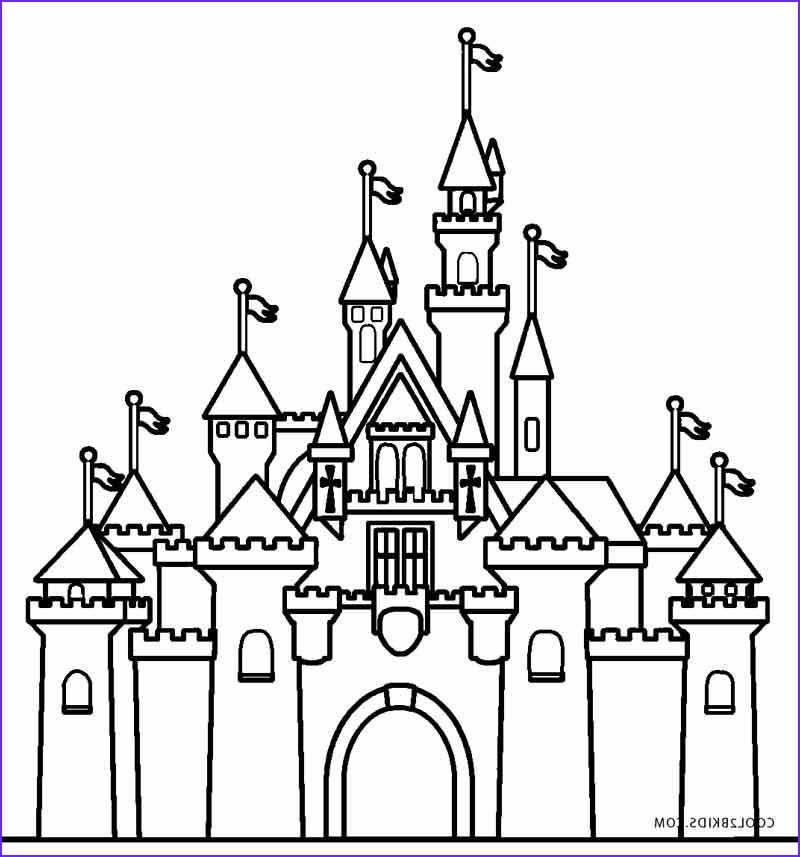 45 Inspirational Photos Of Castle Coloring Castle Coloring Page