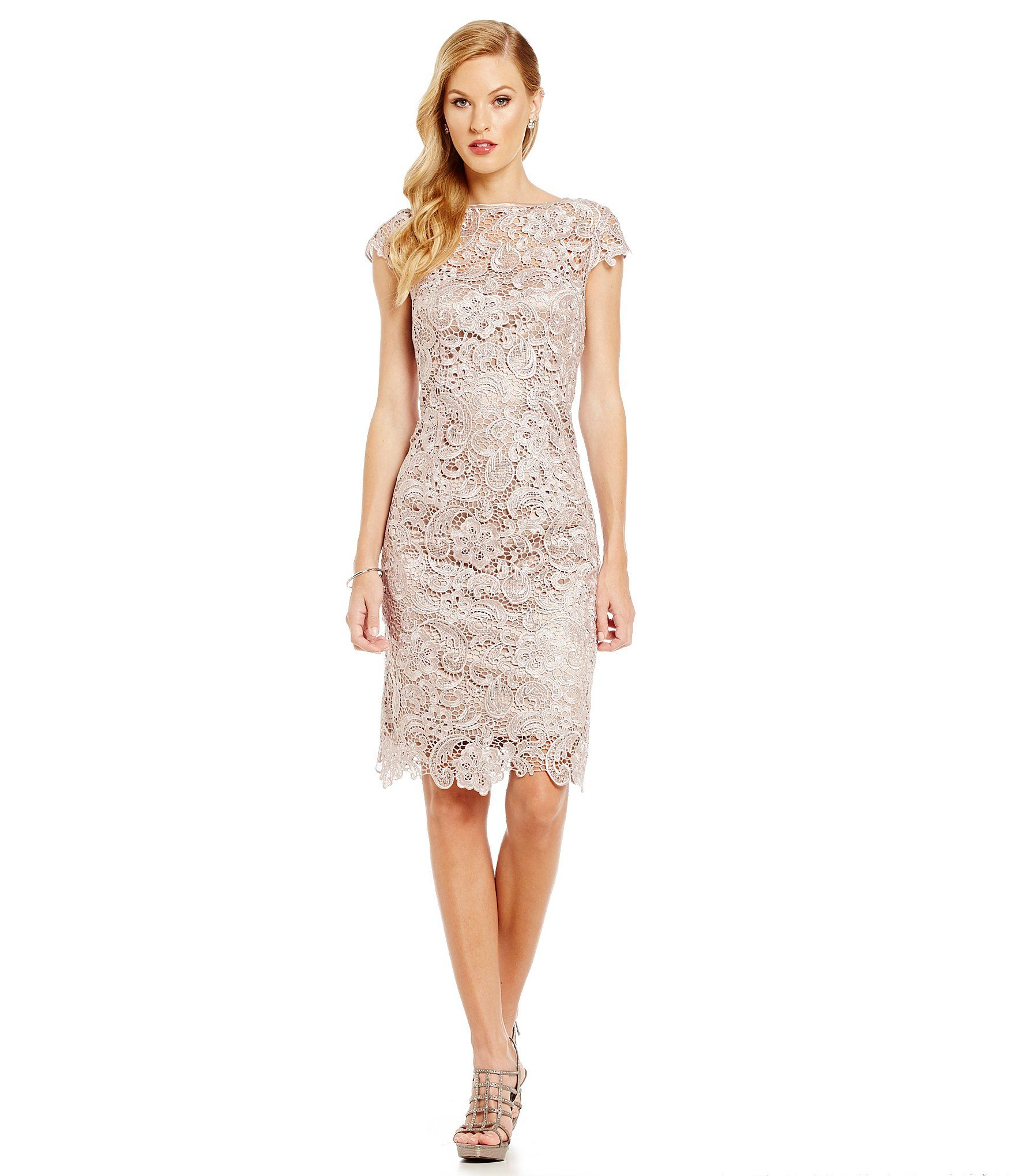 Js collections lace shift dress dillards clothing accessories js collections lace shift dress ombrellifo Gallery
