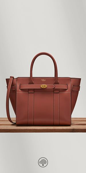 c28070029e Shop the Small Zipped Basywater in Antique Pink Silky Calf Leather at  Mulberry.com.