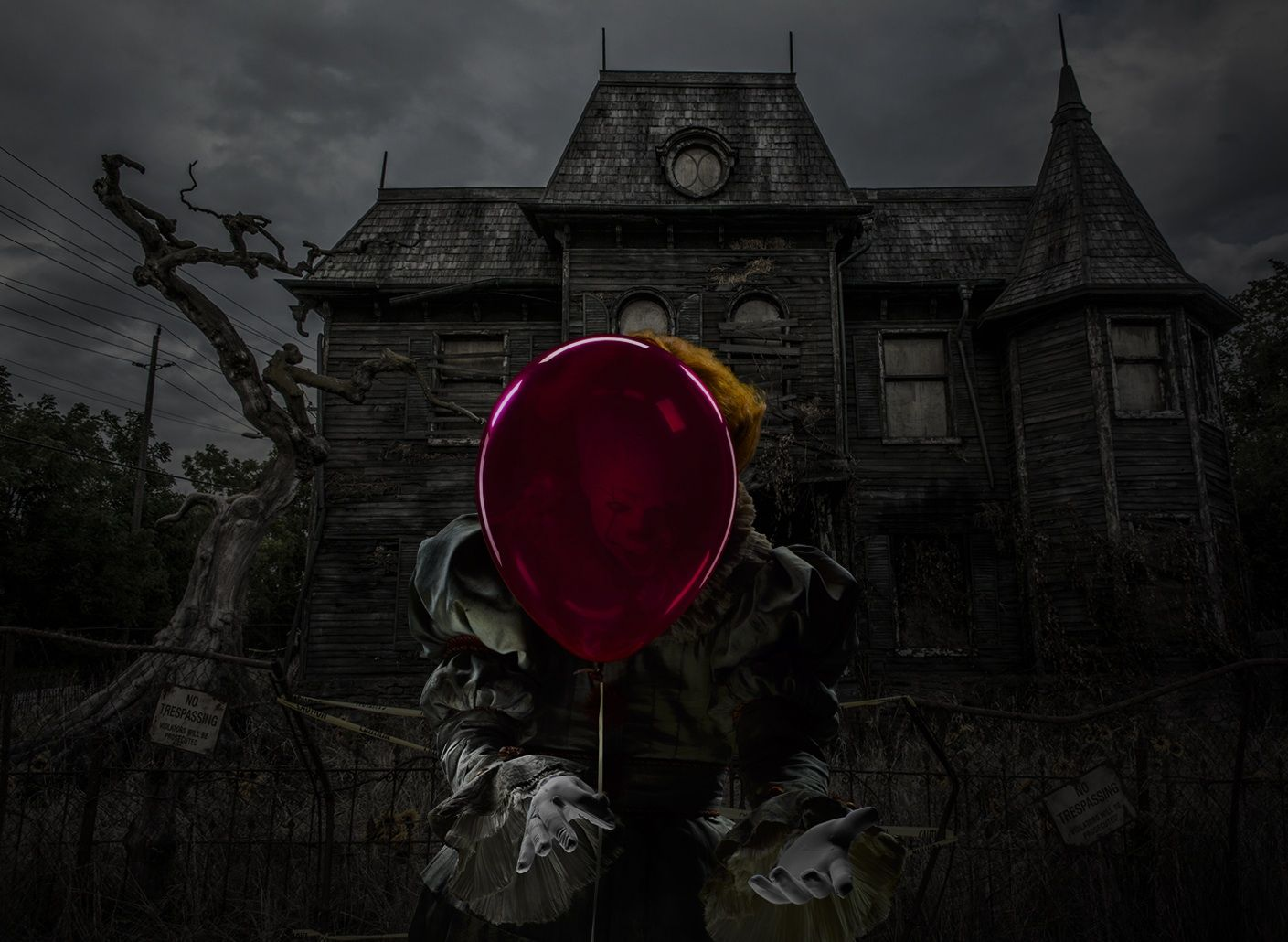 Pennywise custom wallpaper 1 stephen king 39 s it 2017 - Pennywise wallpaper ...