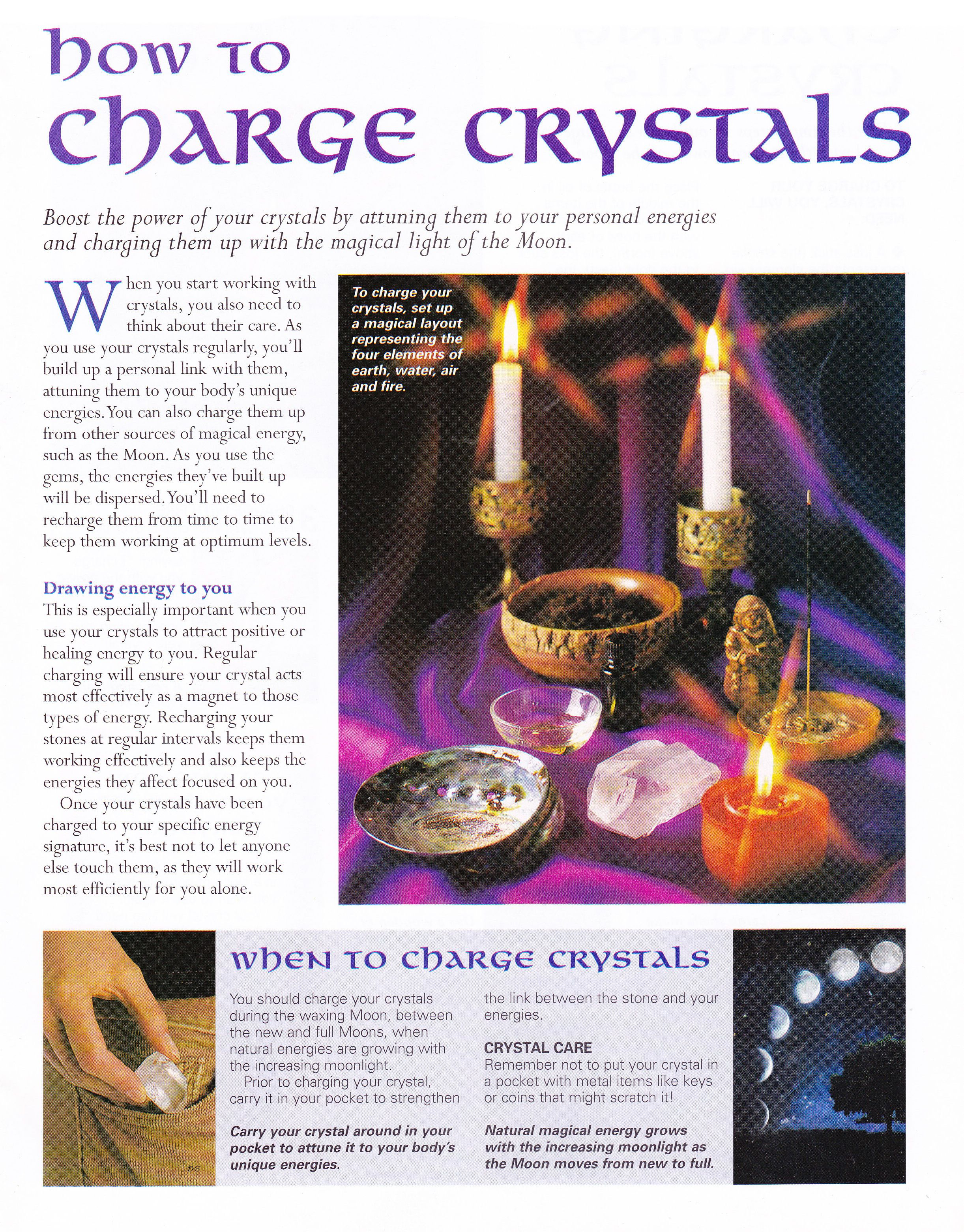 Crystals stones how to charge crystals charge