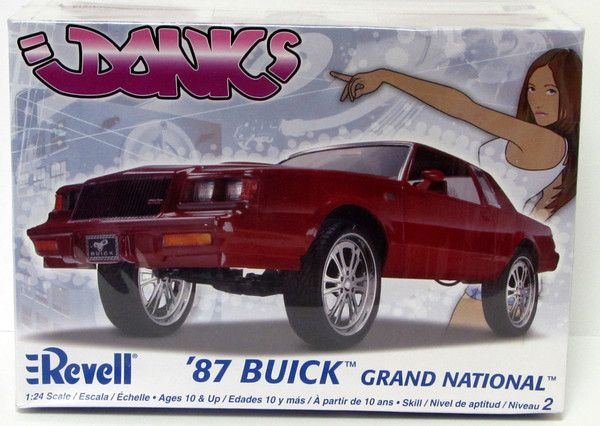 Buick Grand National Donks Made By Revell In