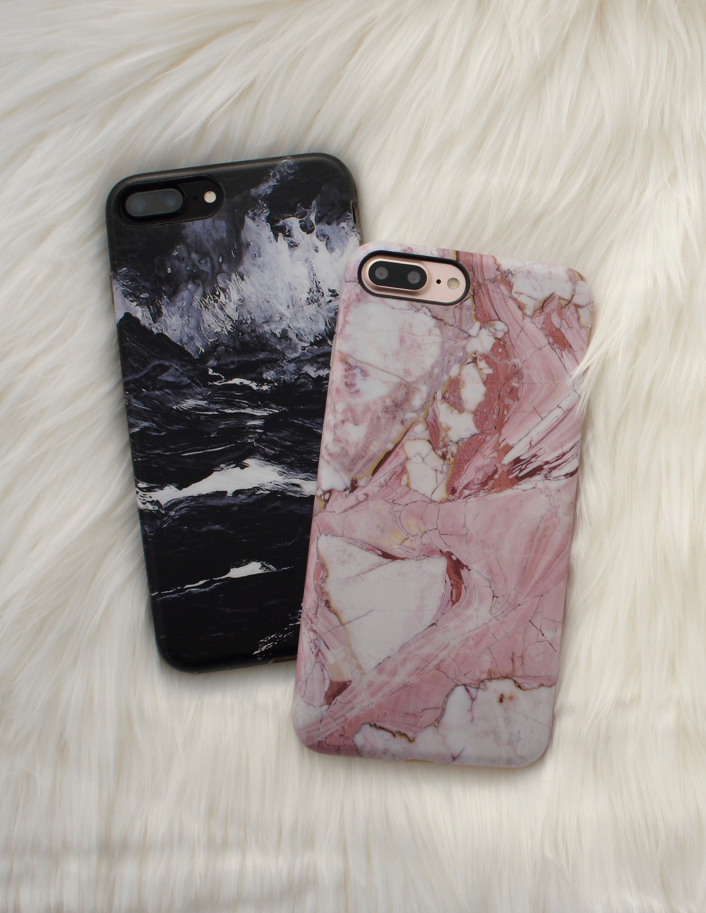 986c916c2b Black + Rose Marble Case Available for iPhone 7 & iPhone 7 Plus from  Elemental Cases