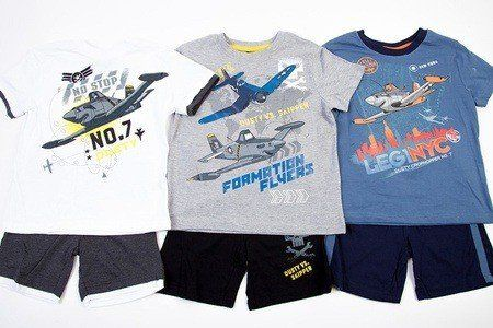 Disney Planes Shorts and T-Shirt £4.99 50% OFF!