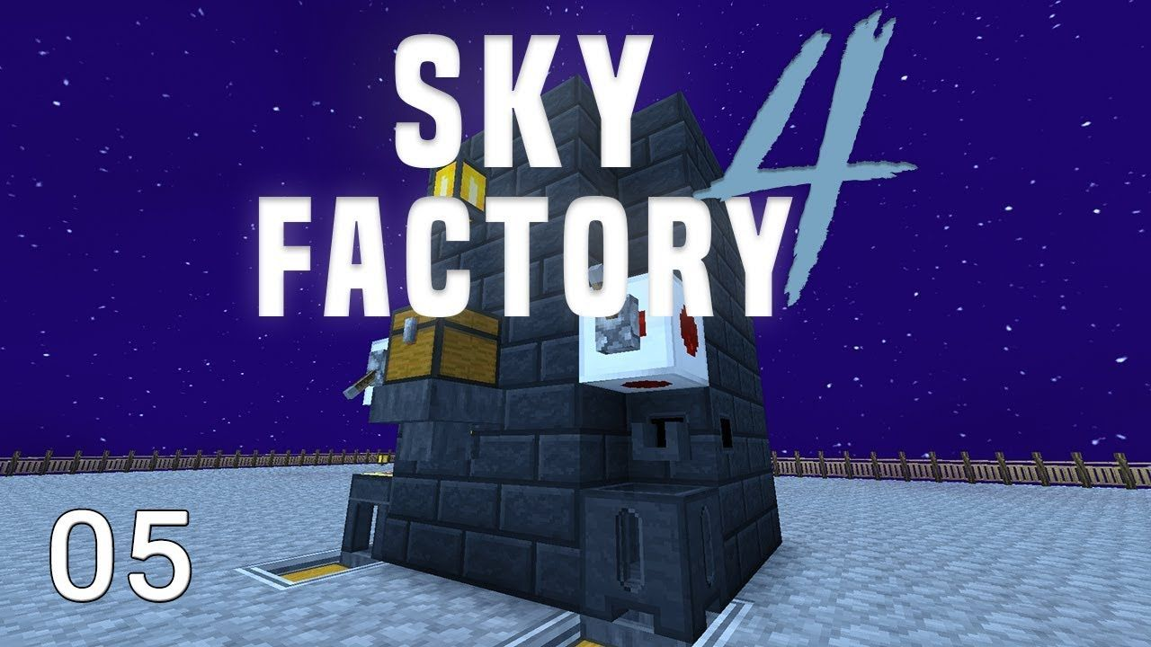 Sky Factory 4 Lava Mob Farm Automation | SystemCollapse