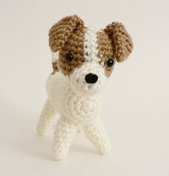 PDF AmiDogs Jack Russell Terrier amigurumi dog CROCHET PATTERN ...