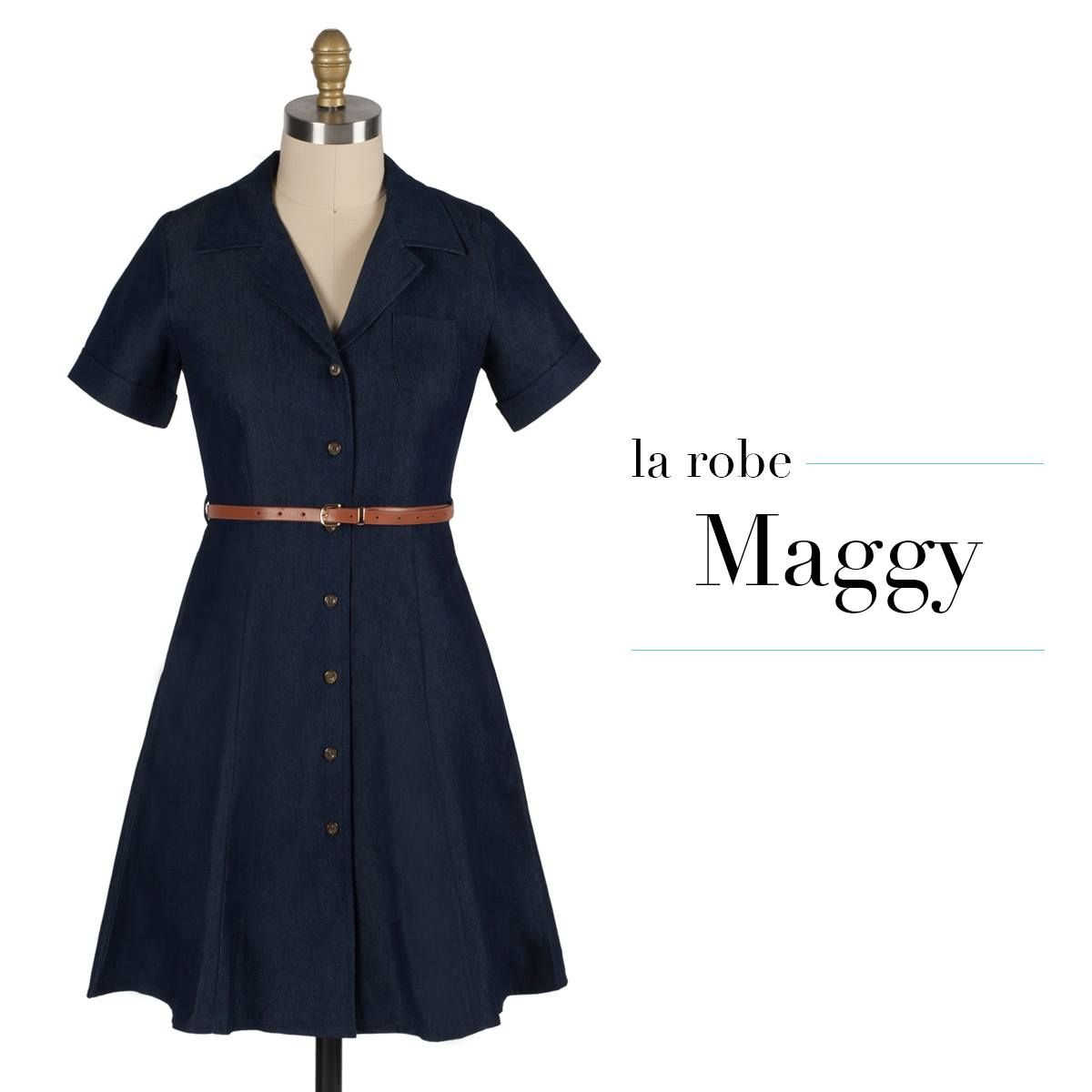 4108789f5fc Robe Maggy - Denim Onze Montreal