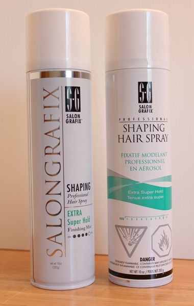 Salon Grafix Hairspray