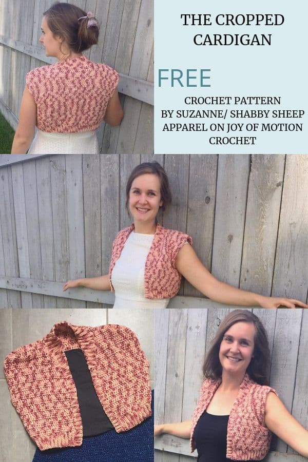 The Cropped Cardigan - Free Crochet Pattern