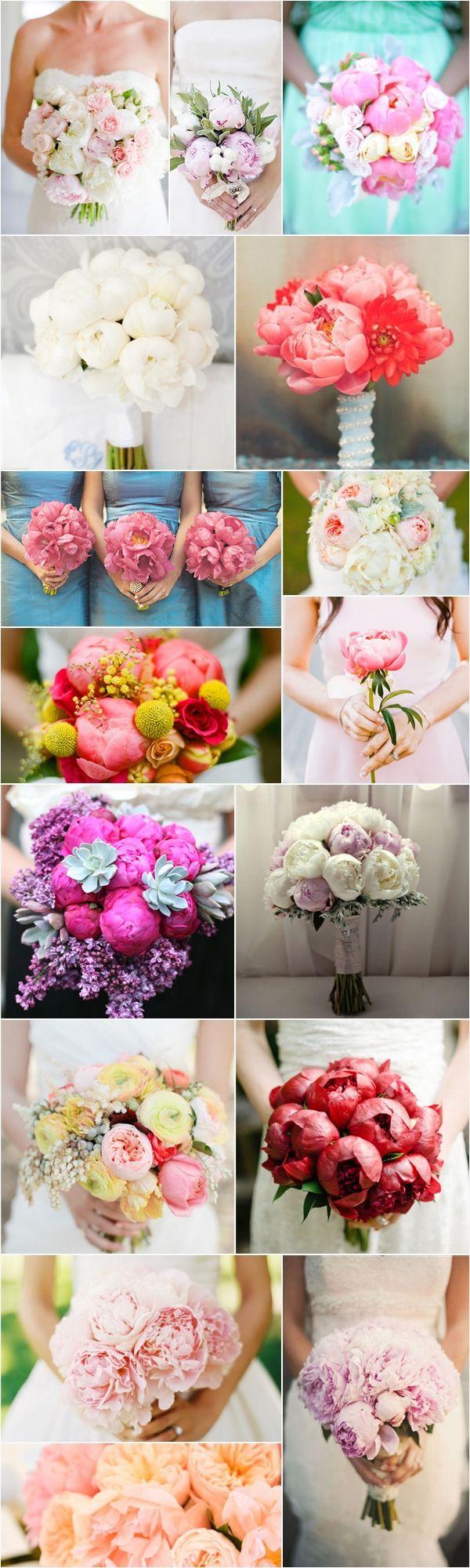 Praise Wedding » Wedding Inspiration and Planning » Wedding Floral Trend – Peonies
