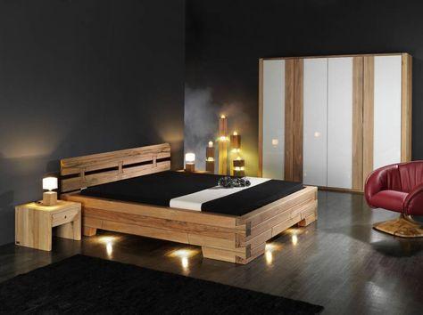 18 - Bett Surselva » Klicken zum Vergrössern -\u003e Schlafzimmer - schlafzimmer holz massiv