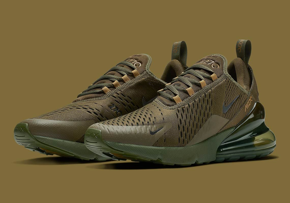 bd92406196d15 Nike Air Max 270 Triple Olive Is Coming Soon