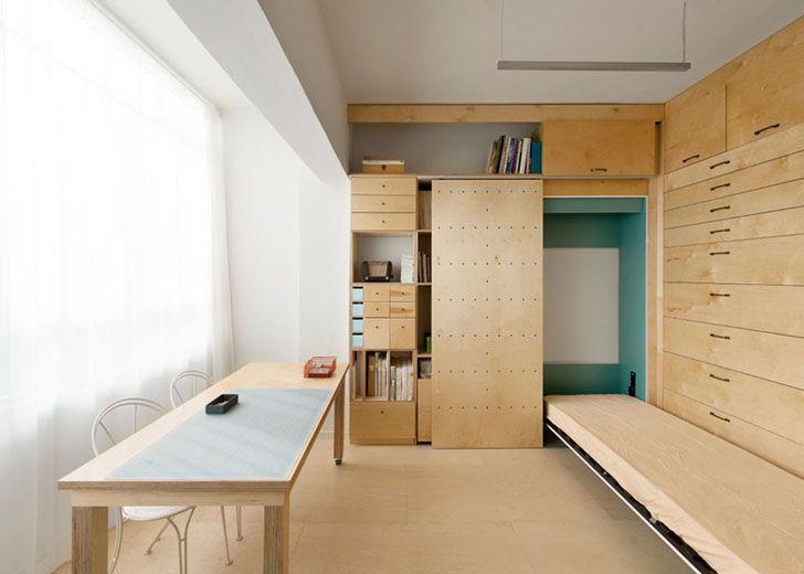 diseño de escritorios para espacios pequeños - Buscar con Google - diseo de escritorios