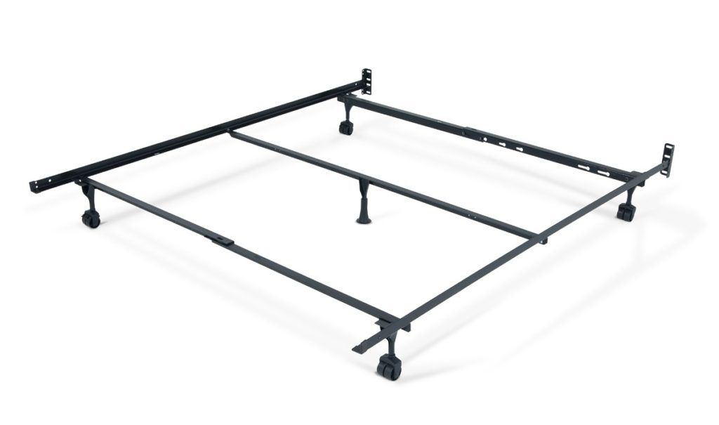 Metal Bed Frame With Casters Bed Frames Ideas Pinterest