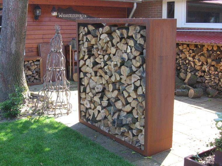 Abri Pour Bois De Chauffage A L Exterieur Nos Idees Pour Un Stockage De Buches Efficace Et Moderne Abri Bois Bois De Chauffage Chauffage Exterieur
