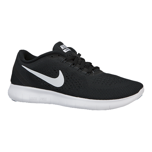 7960bdeda9f Nike Women s Free RN 2016 Running Shoes - Black White in 2019 ...