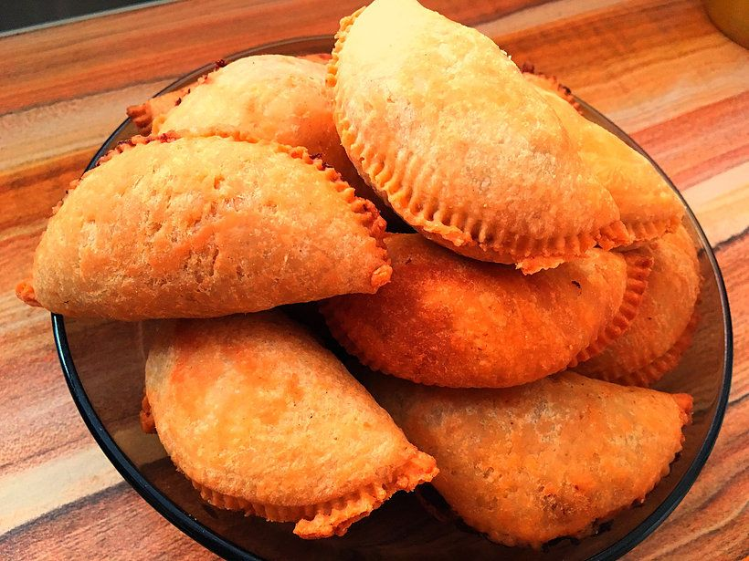 Baked Fish Patties Sri Lankan Pastry Recipes Fish Patties Food
