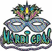Mardi Gras & mask