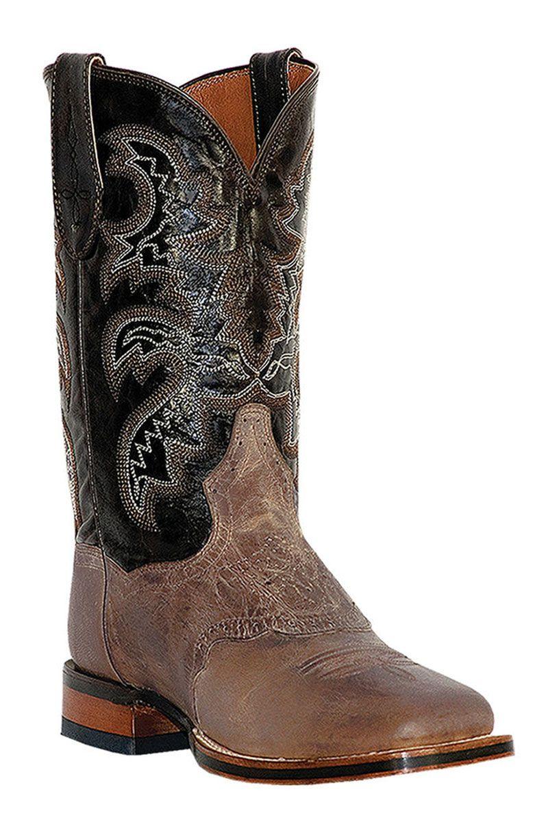 24846d7227b Dan Post Men's Sand Mad Cat Franklin Stockman Cowboy Boots | Men's ...