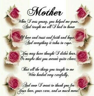 Pin by Askari Khan on ENGLISH POEMS & POETRY  | Mothers day poems