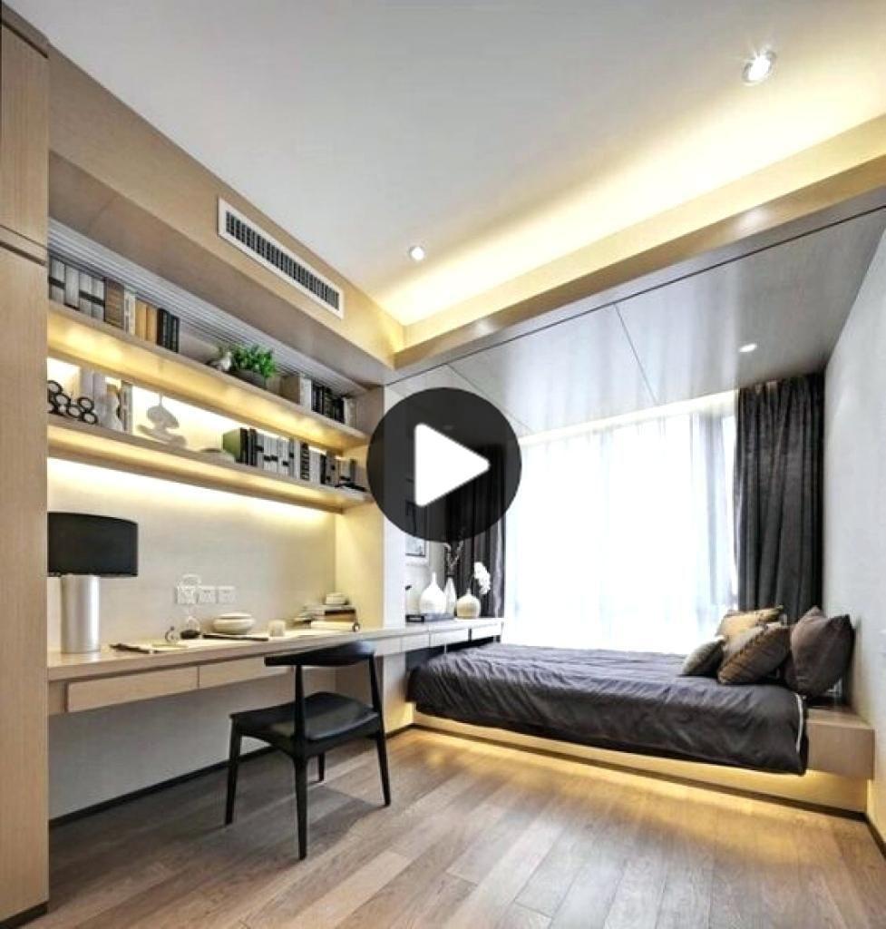 小部屋のために現代のベッドルームのデザインからお楽しみ満足環境に