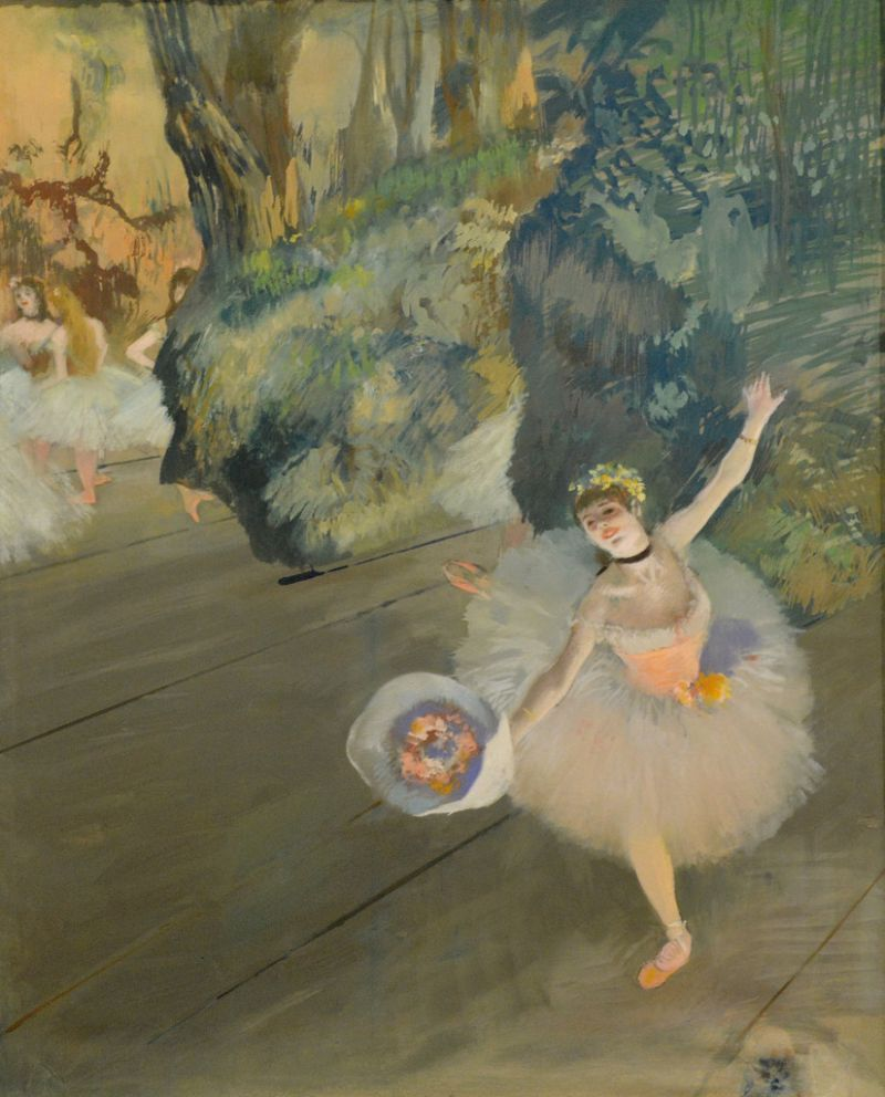 Edgar Degas' Dancer Taking A Bow (1877) in The Green Gallery issue #5
