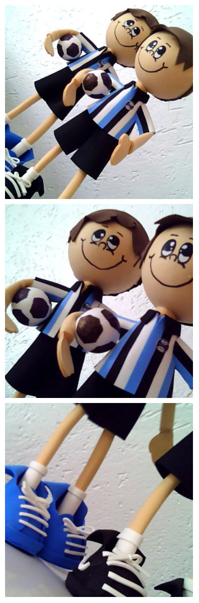 Bonecos em EVA para meus clientes Gremistas!!!