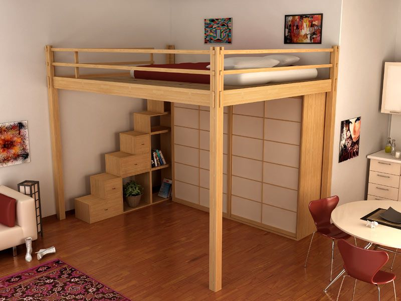 Kids Bedroom Mezzanine letto giapponese soppalcato | for the home | pinterest | lit