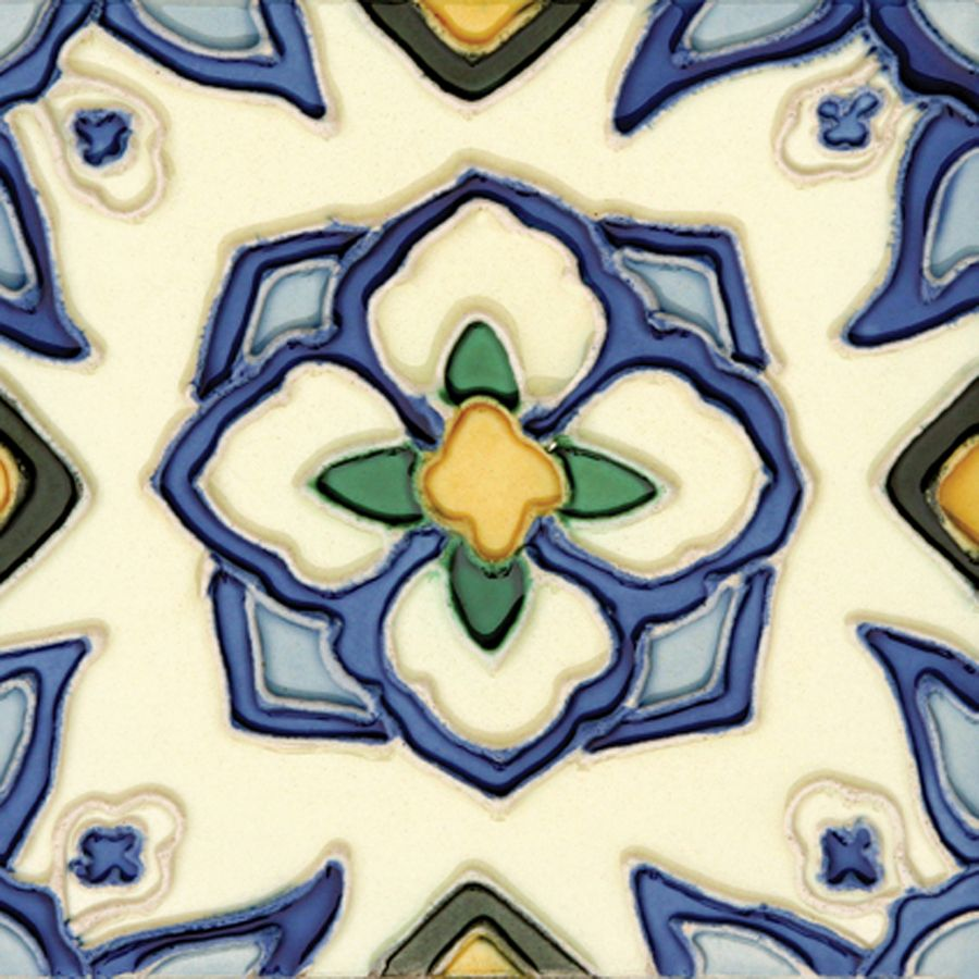 Decorative Outdoor Wall Tiles Classy Shop Solistone 10Pack Handpainted Jirasol Ceramic Indooroutdoor Decorating Design