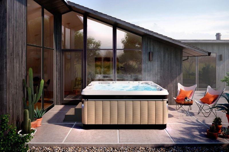 Utopia Series Hot Tubs Reviews And Specs Caldera Spas Hot Tub Outdoor Hot Tub Designs Backyard Design