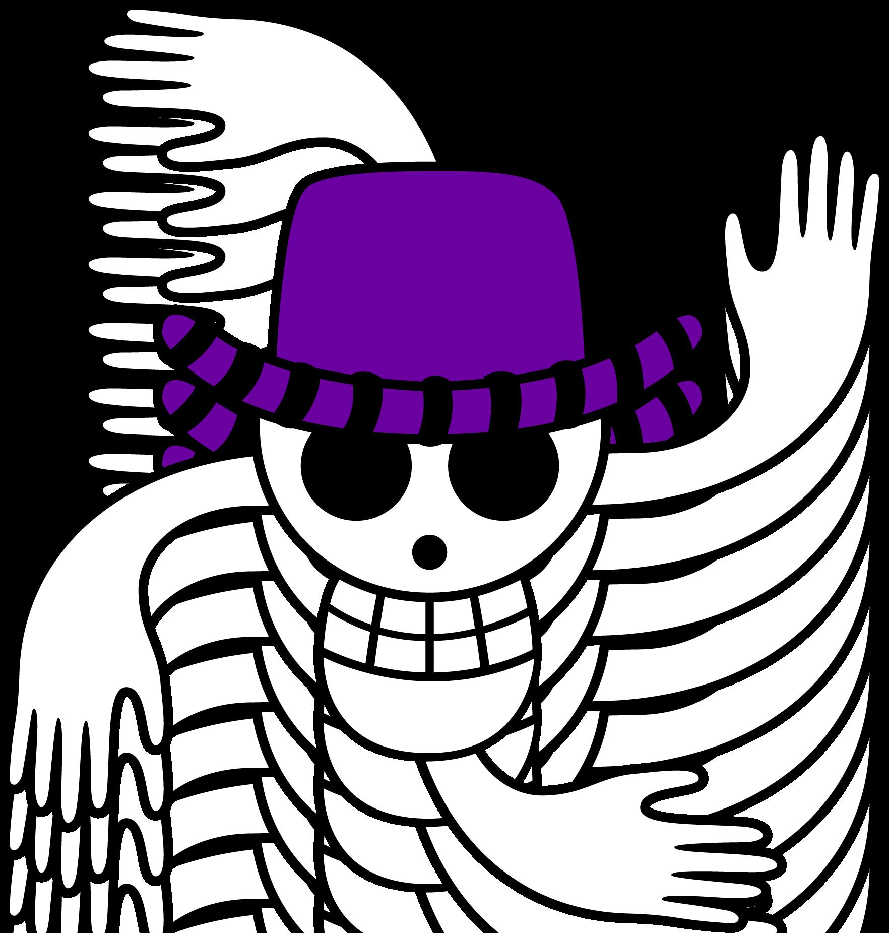 Robin S Flag One Piece Logo Jolly Roger Cute Little Drawings